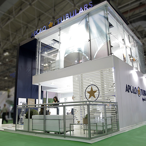 Stand Apolo Tubulars – Rio Oil & Gas 2012 – Rio Centro RJ
