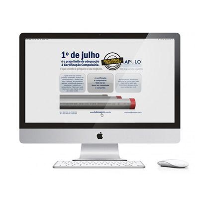 Campanha Promocional Informativa Certificação Compulsória Tubos de Aço – Desenvolvimento de Conceito Visual e Campanha Promocional Junto a Distribuidores e Demais Canais de Venda