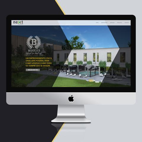 Desenvolvimento – Site Next