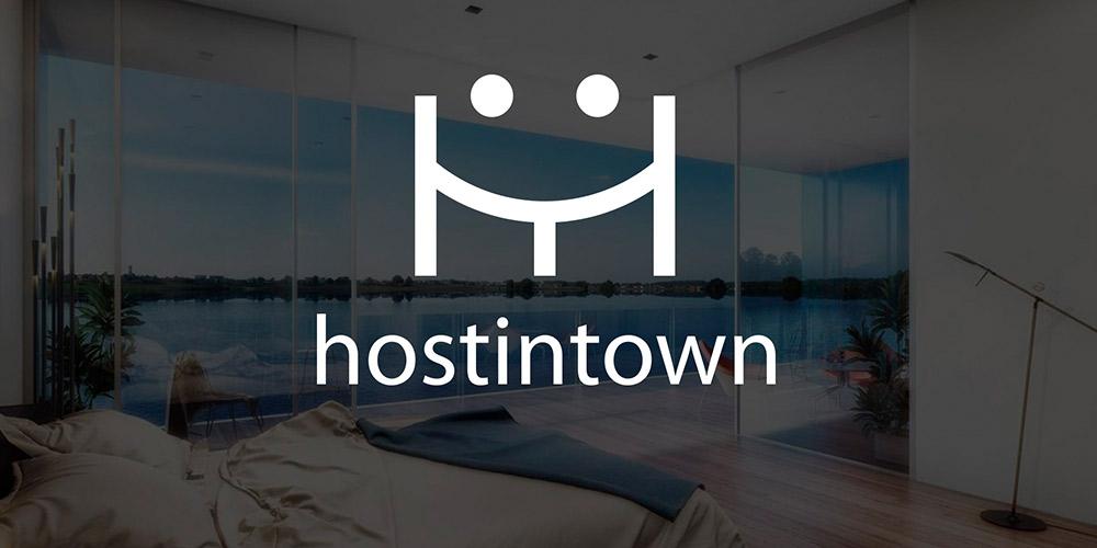 Identidade Visual Hostintown – Desenvolvimento de Conceito Visual e Logo para o site de reservas para temporadaAlto Luxo Hostintown (Lançamento no Mercado)