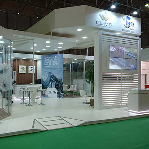 Stand Grupo EBTE Engenharia – Rio Oil & Gas 2016 – Rio Centro RJ