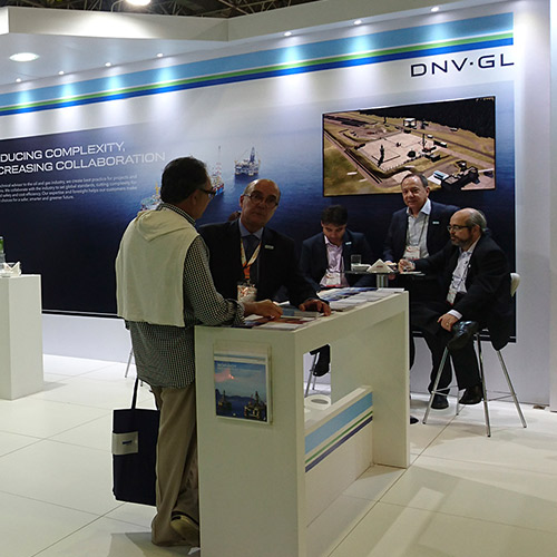 Stand DNV GL – Rio Oil & Gas 2016 – Rio Centro RJ