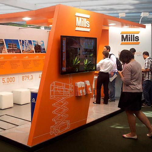 Stand Mills – Mostra Puc 2014 – RJ