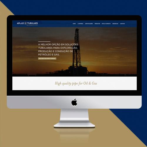 Desenvolvimento Site – Apolo Tubulars