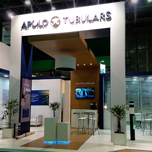 Stand Apolo Tubulars – Rio Oil & Gas – 2016 – Rio Centro RJ